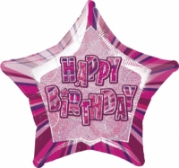 Glitz Birthday Pink