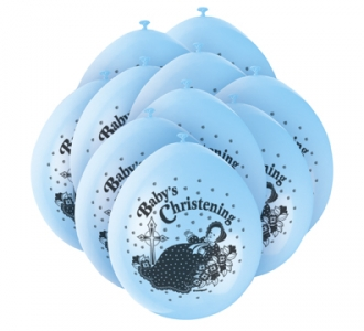 Christening Boy Balloons