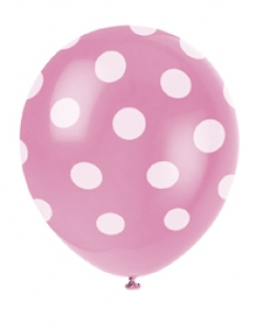 Pink Spot Balloons