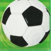 Football Napkins 2ply Pack of 16