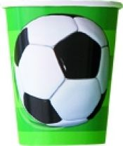 Football Cups Pack of 8