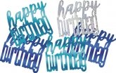 Blue Glitz Birthday Confetti