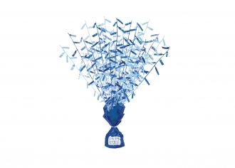 Blue Glitz Centrepiece