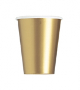 14 Gold Paper Cups