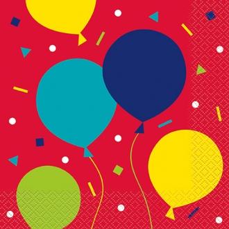 Balloon Party Napkin