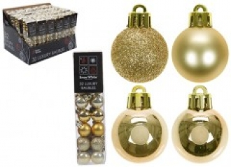 Gold 32 Baubles