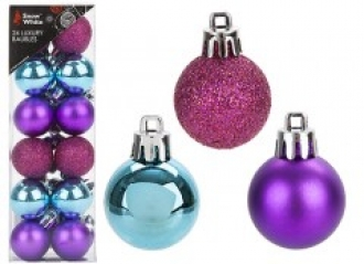 Brights 24 Baubles