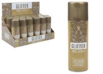 Gold Glitter Spray
