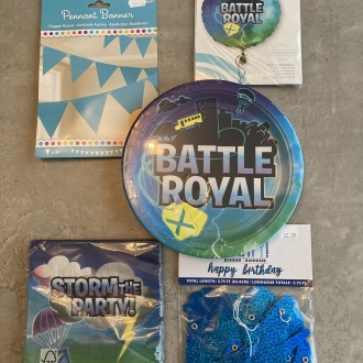 Battle Royal Birthday Pack