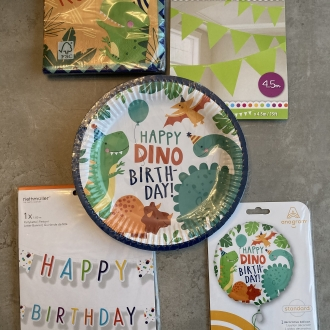 Dino Birthday Pack