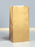 12 Gold Paper Party Bags