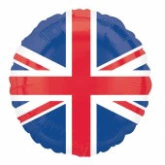 Union Flag Foil Balloon UNINFLATED