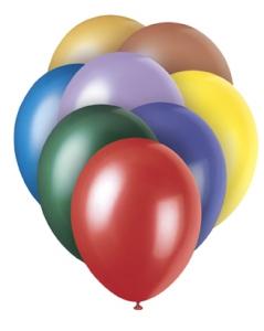 Standard Pearlised Balloons