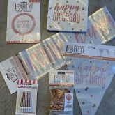 Rosegold Glitz Birthday Pack